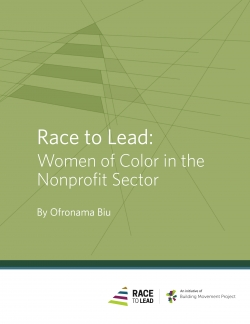 Building Movement Project Releases Report on Race and Gender in Nonprofits