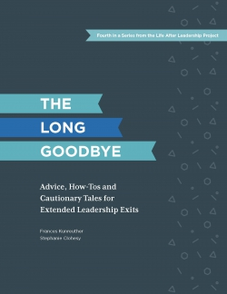 A New Report (with Tools) For Deciding on Extended Executive Transitions