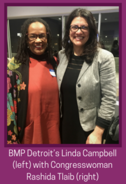 Congratulations to Detroit Community Leader, Linda Campbell
