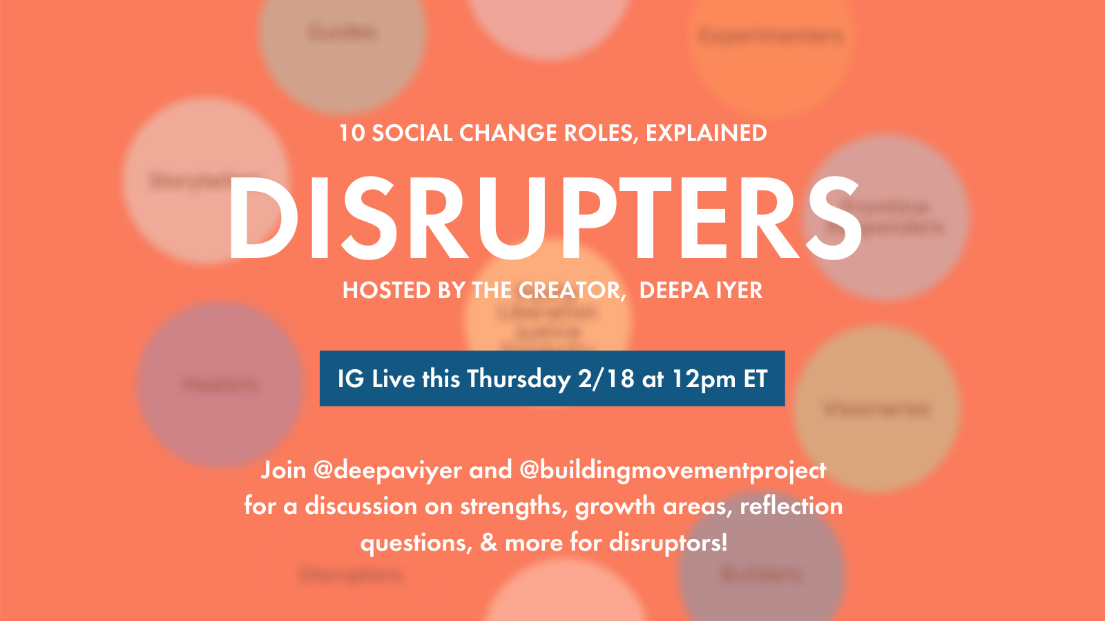 Disrupters, Explained