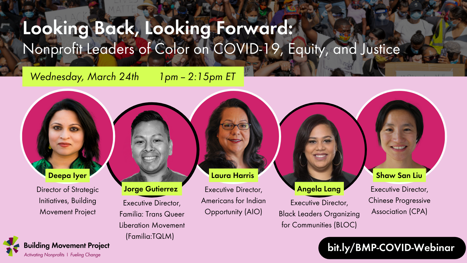 Looking Back, Looking Forward: Nonprofit Leaders of Color on COVID-19, Equity, and Justice