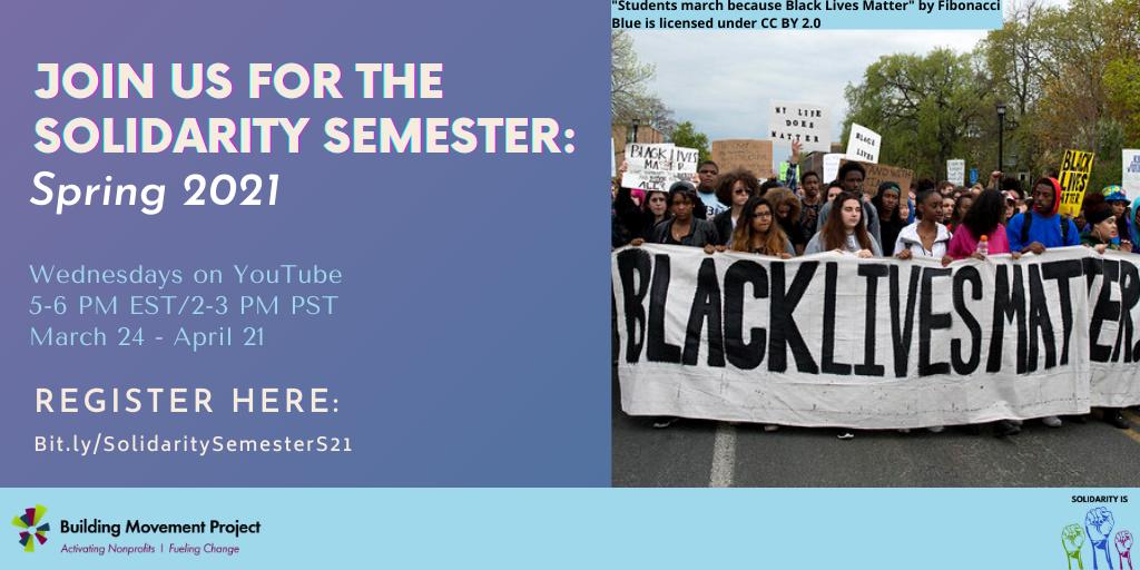 Solidarity Semester: Spring 2021