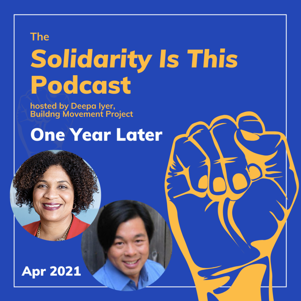 Solidarity Is This - Episode Cover April 2021