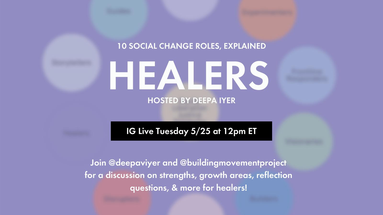 Healers, Explained