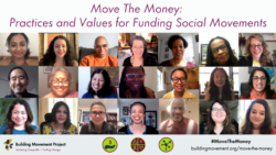 BMP Releases Move The Money to Catalyze Support for Social Movements