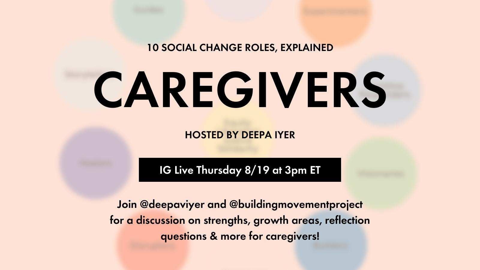 Caregivers, Explained!