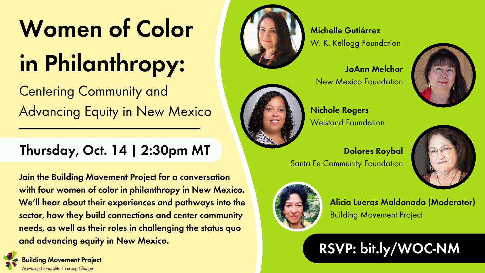 Women of Color in Philanthropy: Centering Community and Advancing Equity in New Mexico